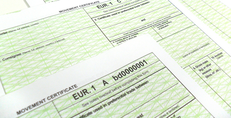 EUR forms